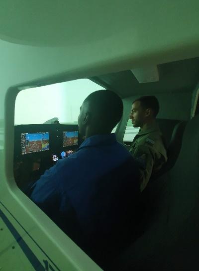 Largada de Pilotos